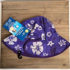 Banz Baby Reversible UV protection hat (0-2) NWT
